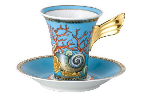 Кофейная пара Tresors De La Mer, Versace&Rosenthal