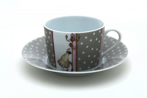 Чайный набор Mademoiselle S'amuse, Haviland