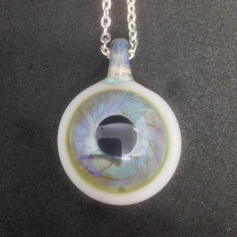 £SOLD Blue eye Pendant