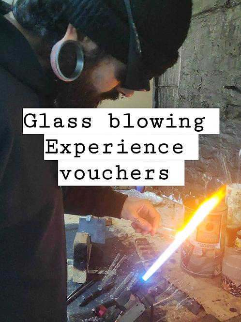 Full day Glassblowing Beginner Lesson Voucher