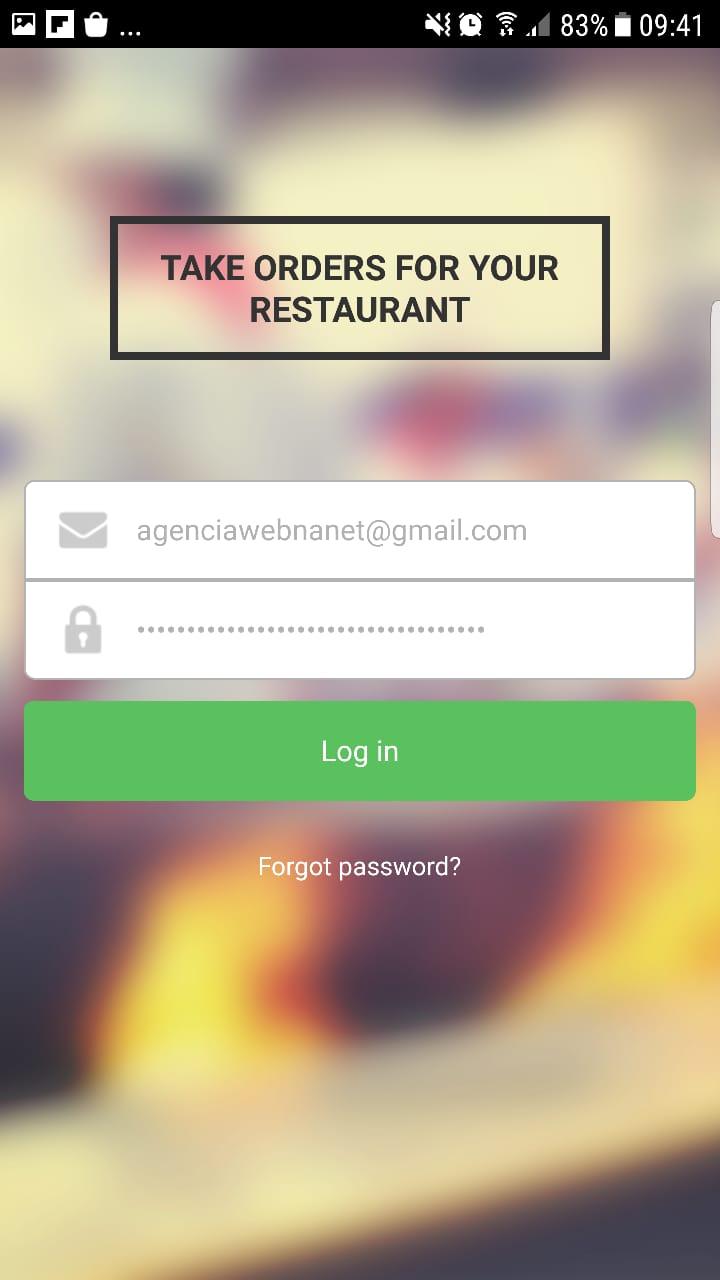 Aplicativo de Pedidos