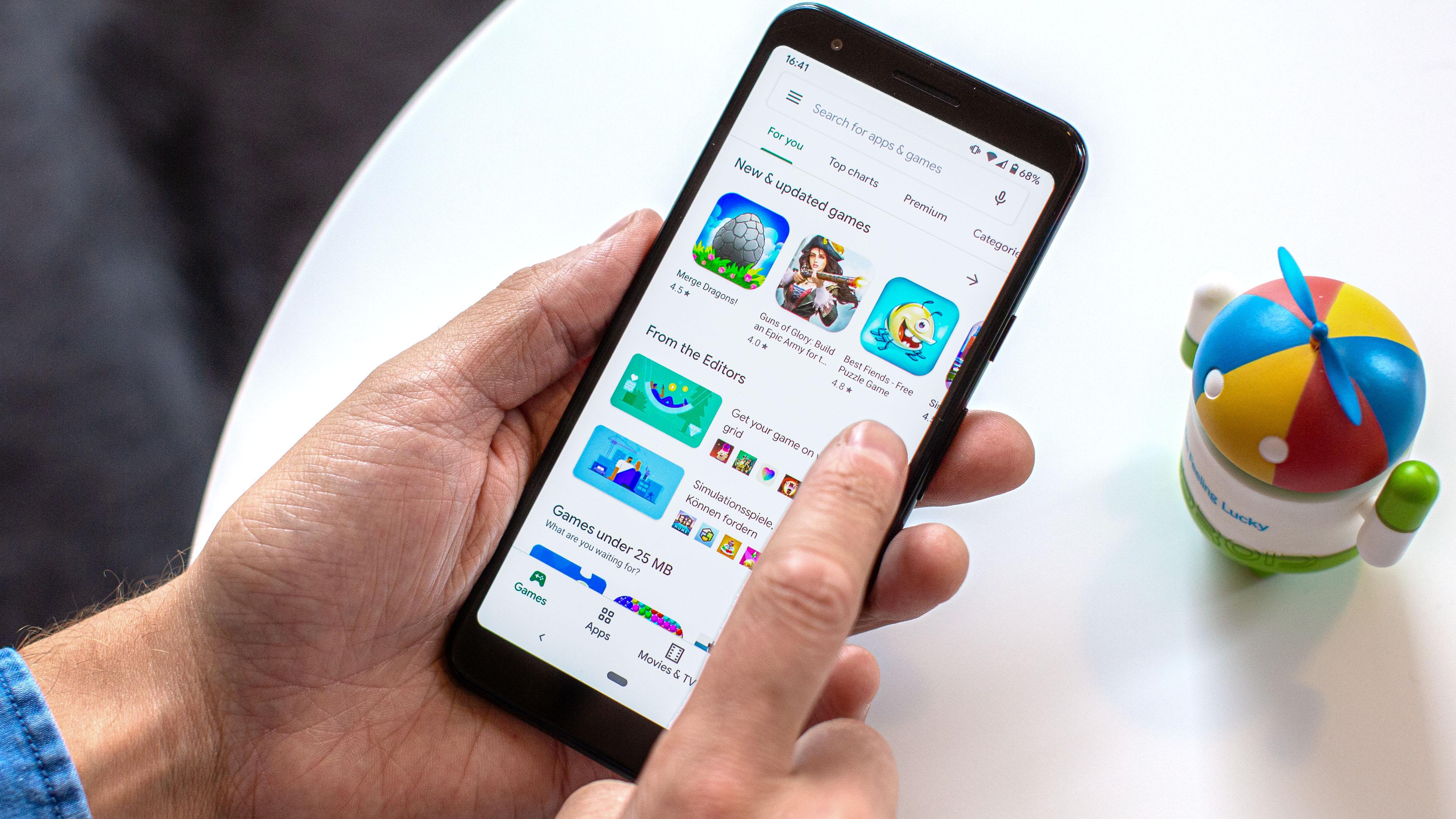 App Na Google Play Store