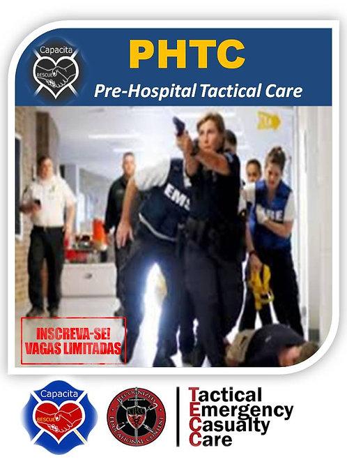 PHTC em Salvador, Dezembro 2021 -  Pre-Hospital Tactical Care -  APH TÁTICO