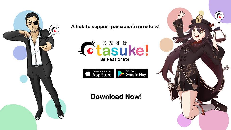Otasuke Welcome Page