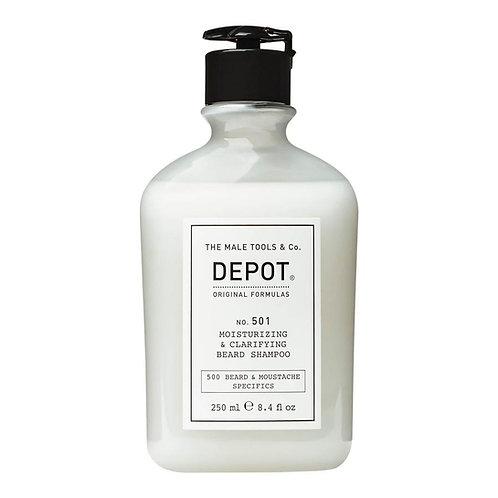 Depot No. 501 Moisturizing & Clarifying Beard Shampoo 250