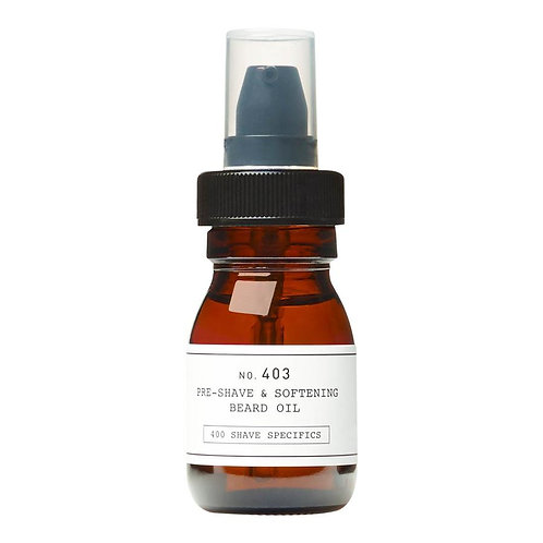 No. 403 Pre-Shave & Softening Beard Oil 30ml