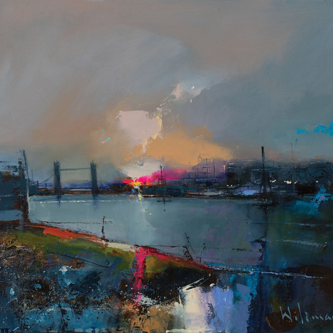 Dawn on The Thames