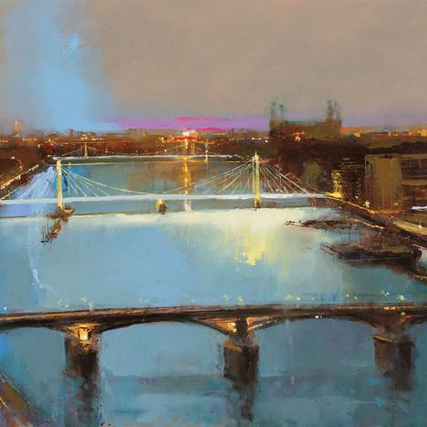 Just Before Dawn, Albert Bridge