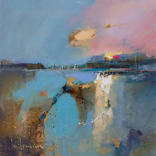 Estuary bank 40cm x 40cm Oil opn Canvas LR sRGB.jpg