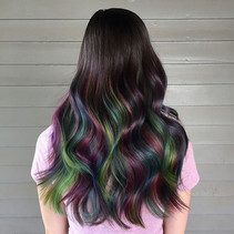 Color, color, color!! 🌈✨💚💫💜 #bookwithlacey #starlightsalon I love you, Pulp Riot