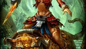 Macuahuitl y Nahuatl: Fantasía épica con aspectos prehispánicos