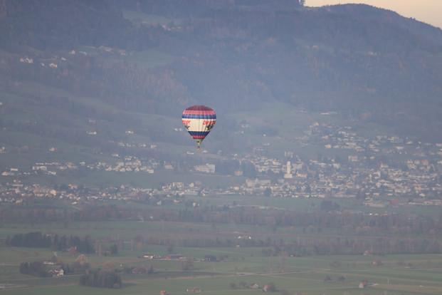 Ballonfahrt mit skyfun.ch
