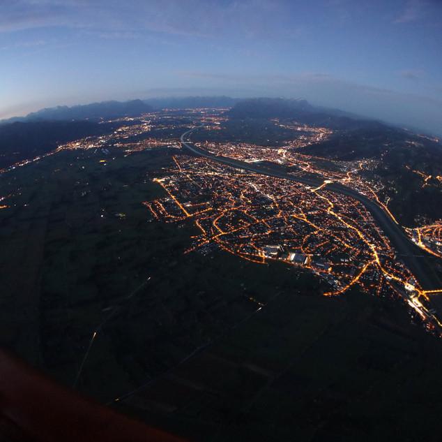 Lustenau im Morgengrauen
