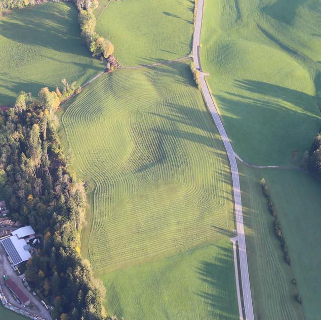 Die Natur hat viele Luftbilder bereit