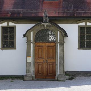 Füssen, Kirchenportal