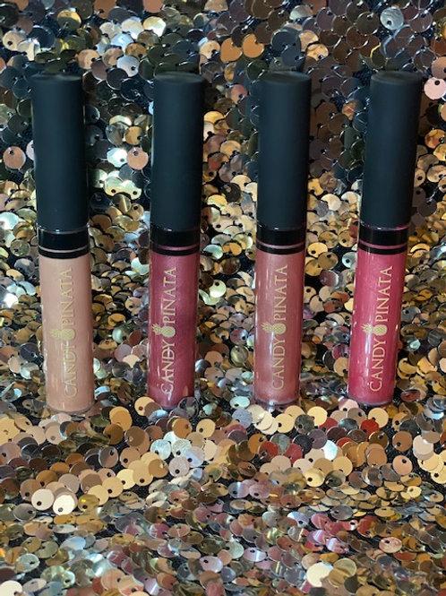 Glam Shimmer Lip Gloss by Candy Pinata Beauty