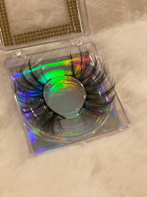 Luxe 3D Mink Lashes 25 MM +Diamond Lash Case
