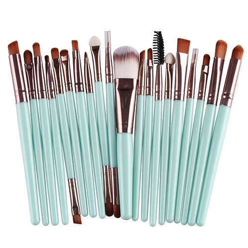 Candy Babe Makeup Brush Set - 20 pc