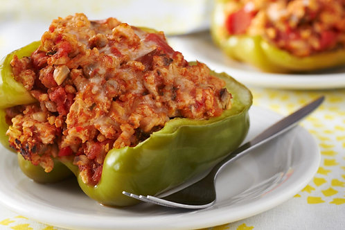 Meat Stuffed Peppers Dinner