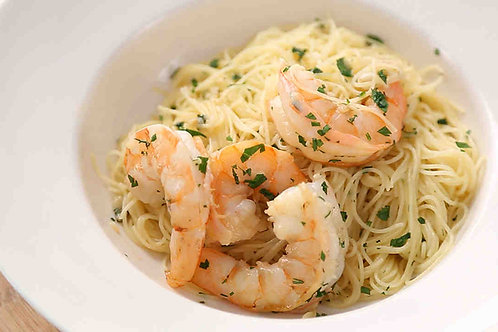 Shrimp Scampi Dinner
