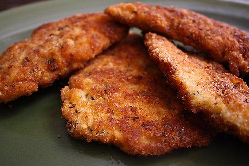 Chicken or Pork Cutlet Dinner