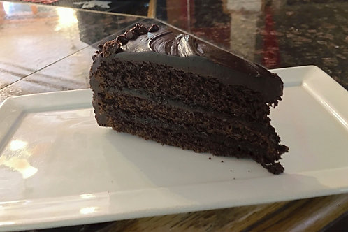 Side Triple Chocolate Cake