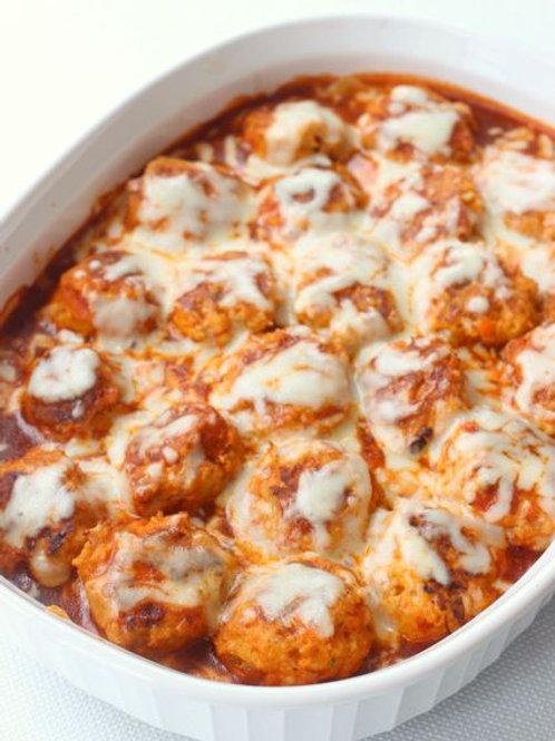 Meatballs & Cheese Dinner