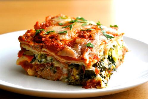 Zucchini Lasagna Dinner