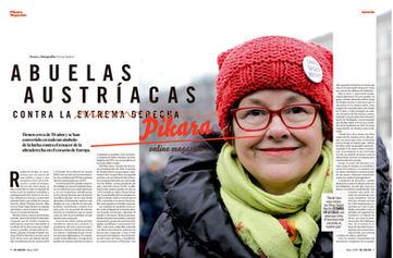 Des mammies autrichiennes contre l'extreme droite. El Salto/ Pikara