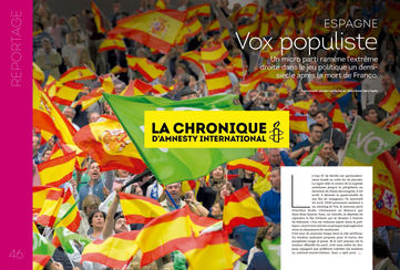 Vox Populiste- Amnesty International