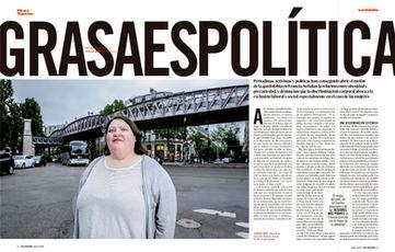 La grasse est politique. El Salto/ Pikara
