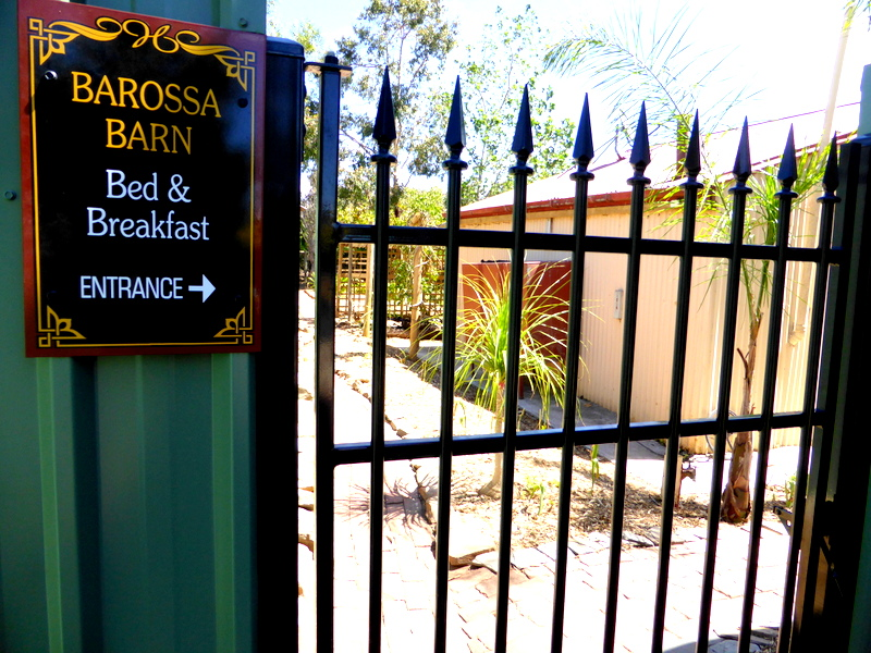 B&B Entrance Gate