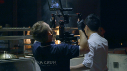 Dan shooting at Namu, W Hotel