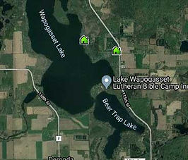 lake wapogasset homes for sale map search