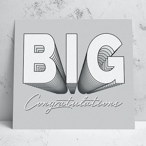 Big Congrats Card