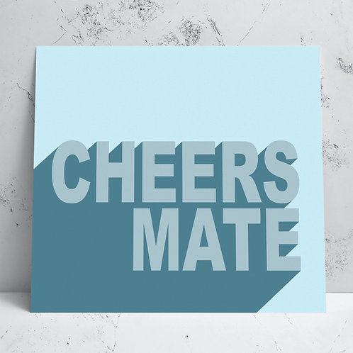Cheers Mate Card