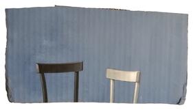 Damiano Azzizia Catisofobia, 2020 Acrylic on cardboard 30 x 16.5 cm