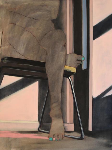 Eder Olguin Apparition, 2020 Oil on canvas  80 x 60 cm