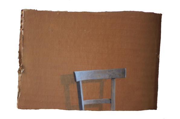 Damiano Azzizia Catisofobia, 2018 Acrylic on cardboard 13,5 x 19 cm