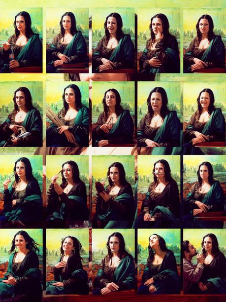 Mona Lisa Series 2, 2005 Giclee Print on paper, edition of 3 101.5 x 129.5cm