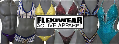 Flexiwear logo with stagewear examples