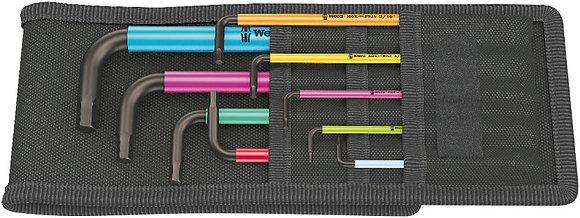 950/9 Hex-Plus Multicolore Imperial 1 Jeu de clés mâles coudées WERA