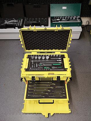 Valise 89 outils équipée à roulettes STAHLWILLE