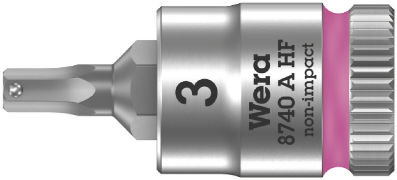 Douille-embout Zyklop pour vis à six pans creux 8740 A HF WERA