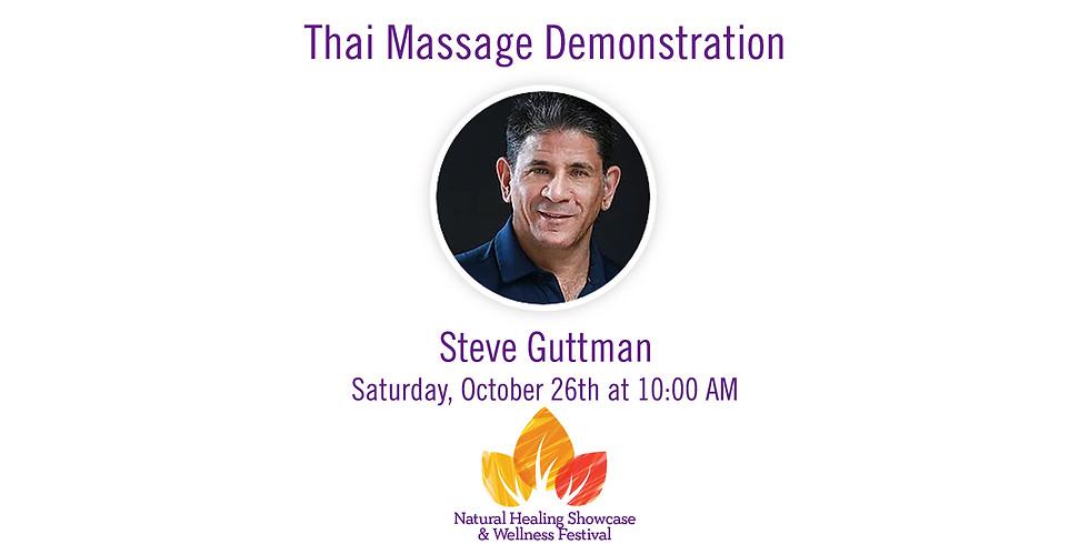 Thai Massage Demonstration