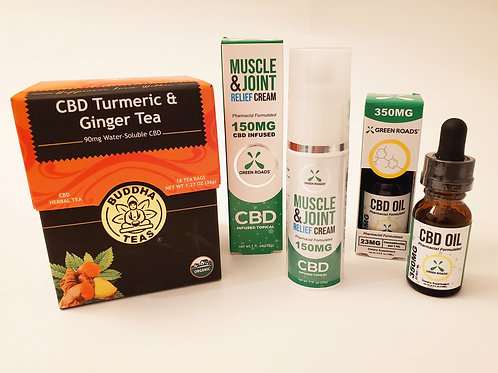 CBD Pain Relief Package