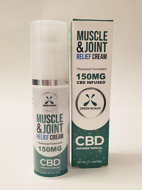 CBD Muscle & Joint Relief Cream 150mg