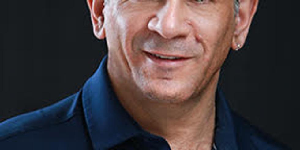 Meet Steve Guttman - Massage Therapist (free chair massage)