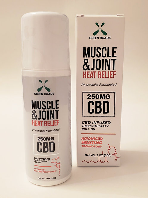 CBD Muscle & Joint Heat Relief 250mg
