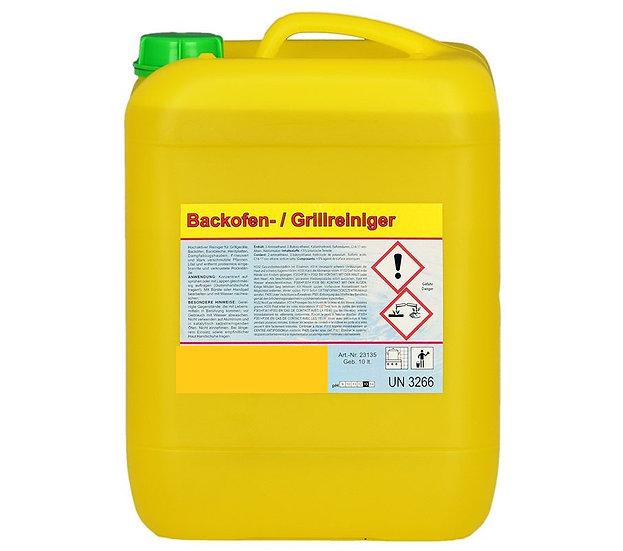 Backofen- und Grillreiniger / Kanister à 10 Liter